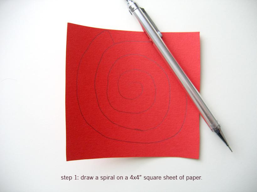 Поделка роза из бумаги как сделать своими руками