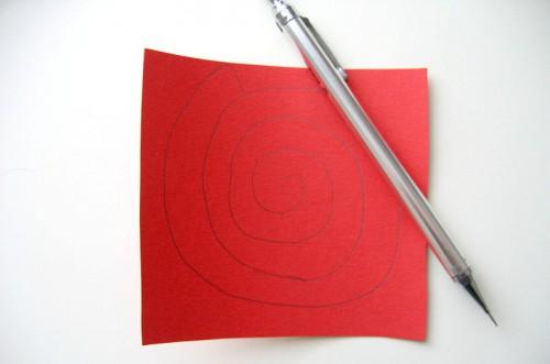 Мастер класс: розы из бумаги