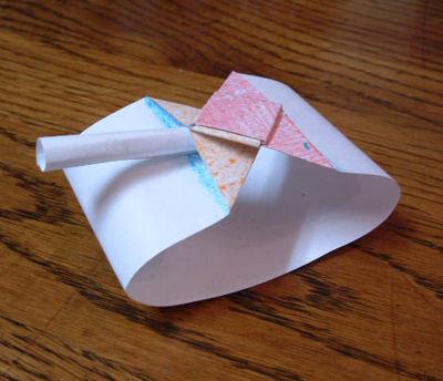 Как сделать бумажный танк