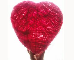 поделка сердечко на 14 февраля