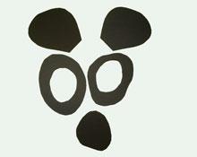 маска панды