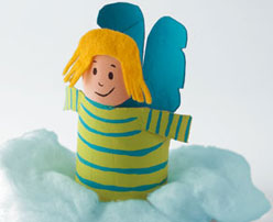 кукла ангел своими руками из бумаги