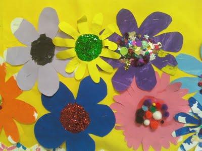 Поделки цветов из цветной бумаги