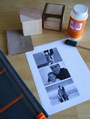 деревянные кубики своими руками фото рамка