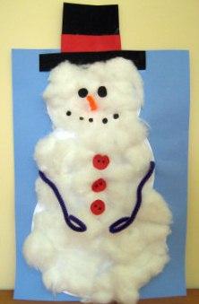 Поделка Снеговик своими руками мастер класс