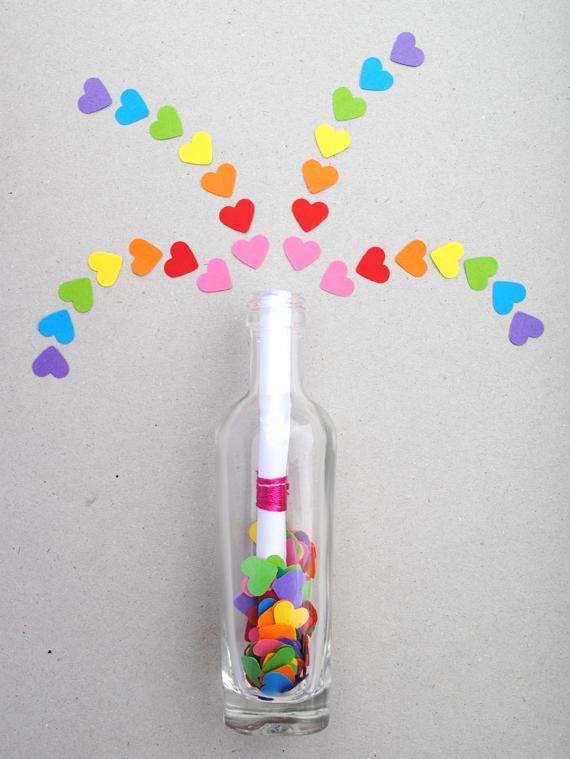 невидимые чернила послание в бутылке
