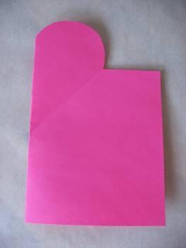 сделать открытку на день Святого Валентина своими руками