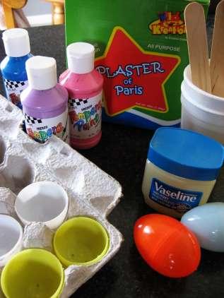 как сделать пасхальные яица