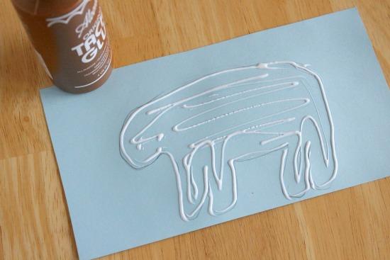 объемные животные из бумаги