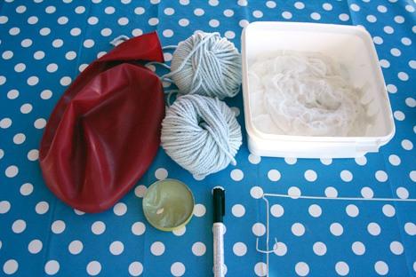 Как сделать люстру из ниток