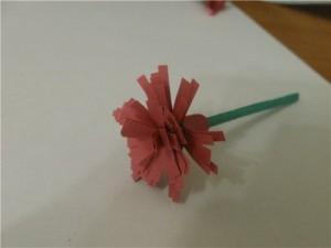 цветы из бумаги к 9 мая