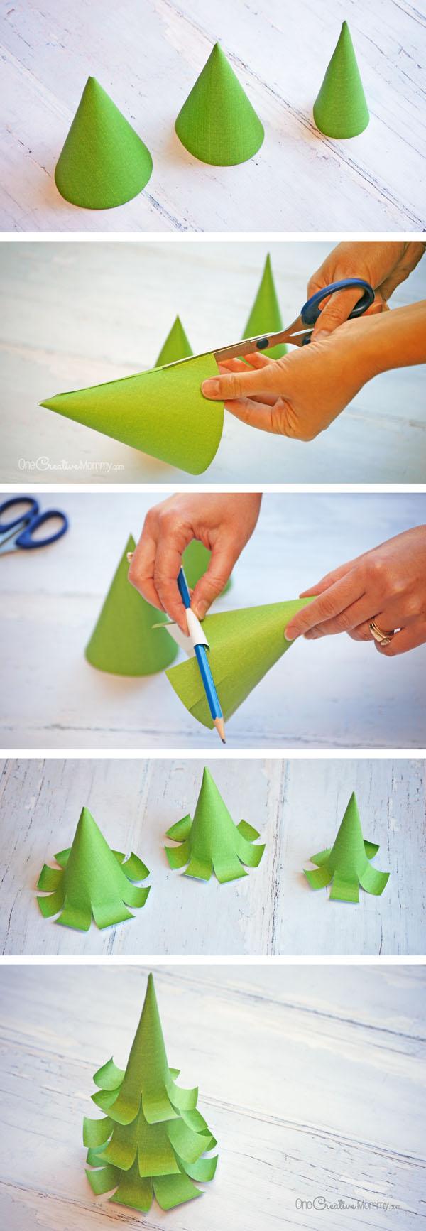 Как своими руками сделать маленькую елочку своими руками