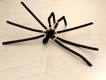 Как сделать паука своими руками