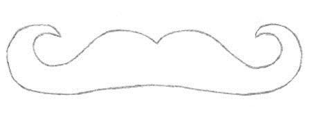 Как сделать усы для бармалея