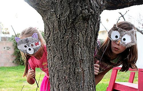 Как сделать маска на хэллоуин своими руками