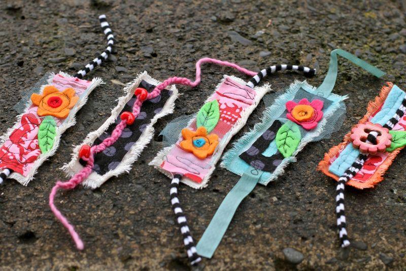 Модные браслеты своими руками