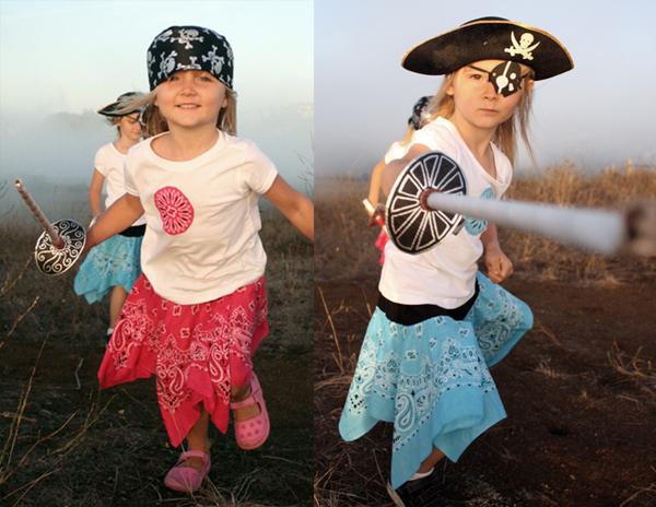 Как сделать костюм пирата девочки своими руками