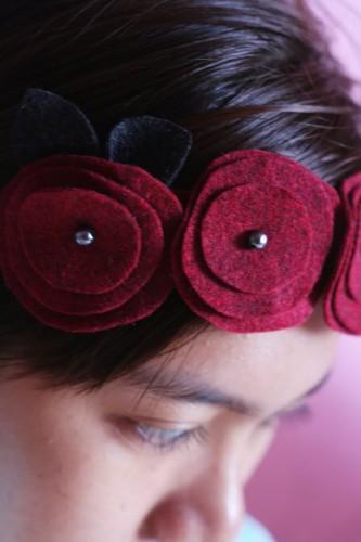 Повязки на голову с цветами