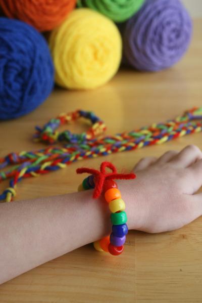 Браслеты своими руками из ниток для мальчиков