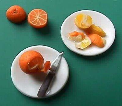 Апельсин - поделка