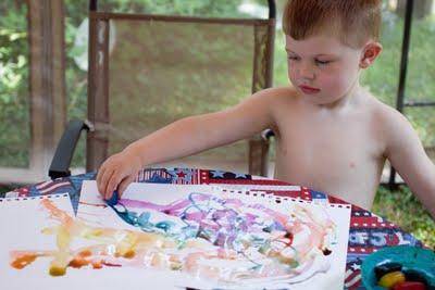 Картинки рисунки детей. Рисунки льдом.