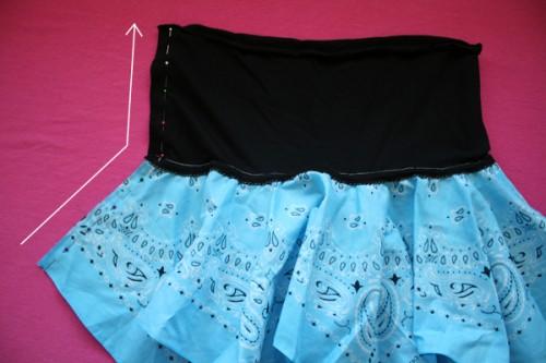 стильная детская юбка своими руками