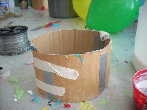Как сделать корзину своими руками для воздушного шара