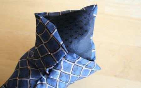 Добрая змея из папиного галстука (2)
