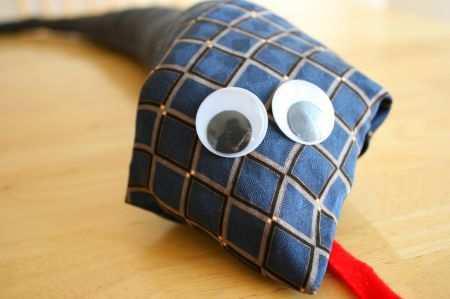 Добрая змея из папиного галстука (1)
