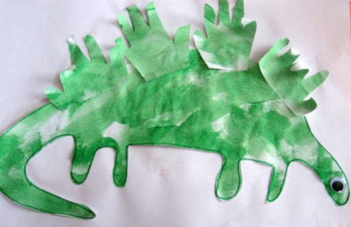 Игрушки из бумаги своими руками (делаем дракона из бумаги) (4)