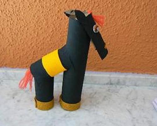 лошади из бумаги (19)