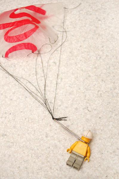 Сделать парашютиста своими руками