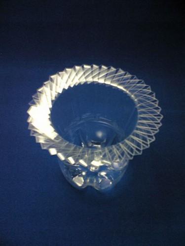 Ваза из пластиковой бутылки (2)