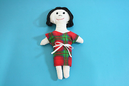 Тряпичная кукла своими руками (2)