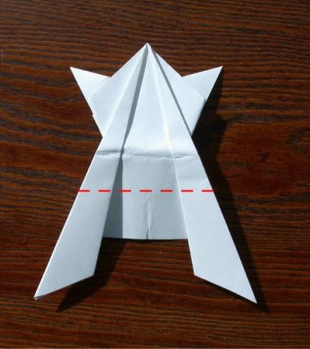 Лягушка оригами (2)