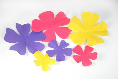 Бумажный цветок своими руками (3)