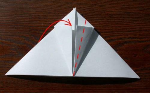 Лягушка оригами (9)