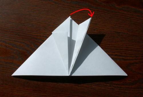 Лягушка оригами (8)