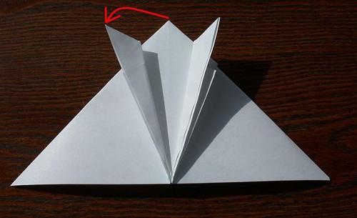 Лягушка оригами (7)