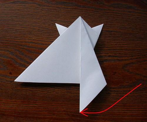 Лягушка оригами (4)