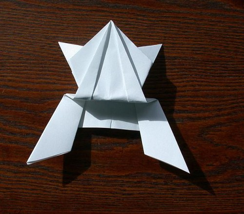 Лягушка оригами (1)