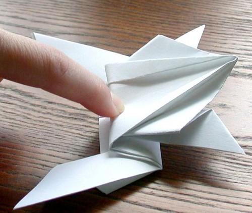 Лягушка оригами (18)
