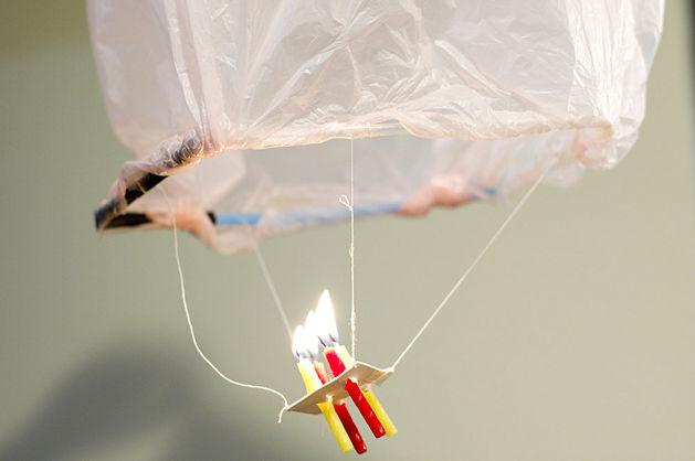 Своими руками китайские летающие фонарики