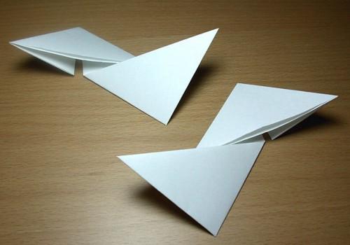 Как сделать из бумаги звезду (7)