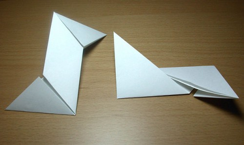 Как сделать из бумаги звезду (6)