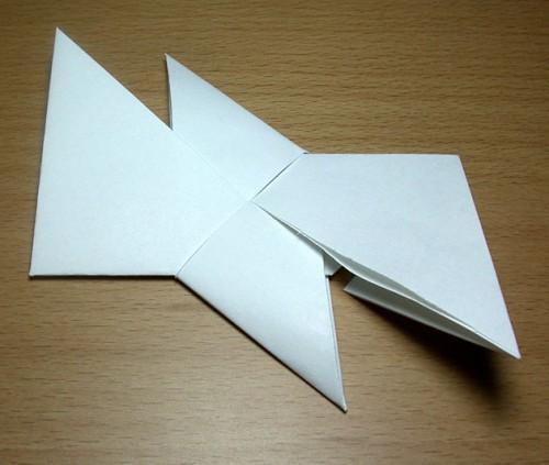 Как сделать из бумаги звезду (3)