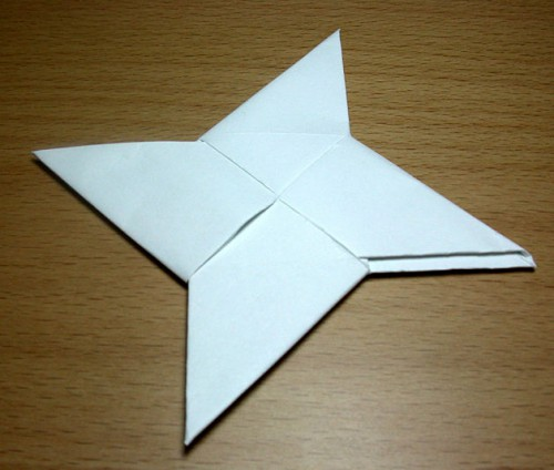 Origami Weapons!  YouTube