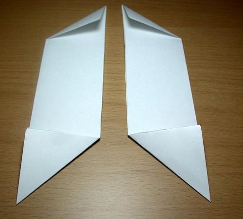 Как сделать из бумаги звезду (9)