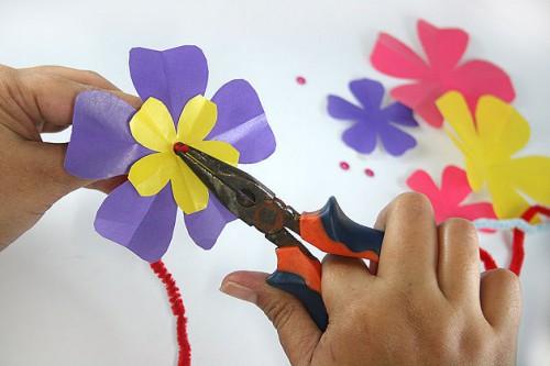 Бумажный цветок своими руками (2)