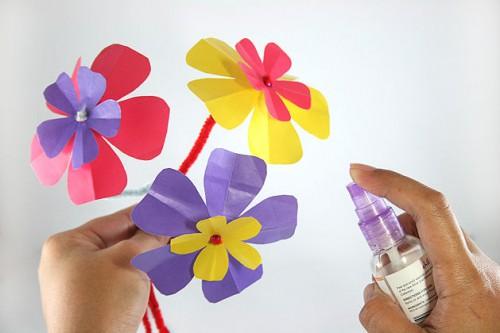 Бумажный цветок своими руками (1)